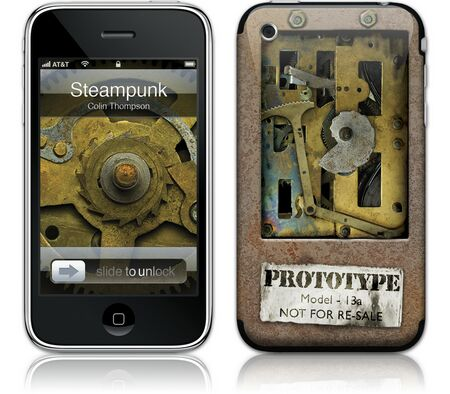 Gelaskins iPhone 3G 2nd Gen GelaSkin Steampunk by Colin