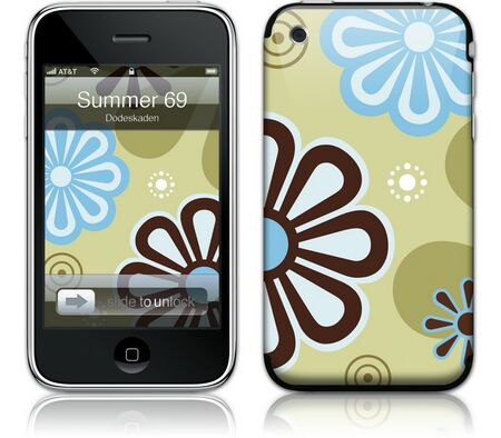 Gelaskins iPhone 3G 2nd Gen GelaSkin Summer 69 by