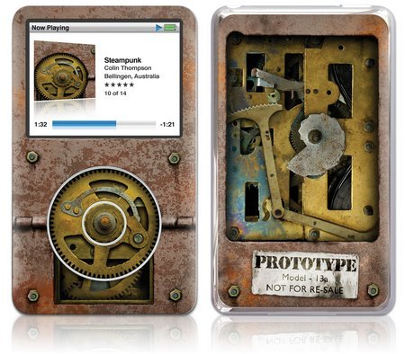 GelaSkins iPod Classic GelaSkin Steampunk by Colin Thompson