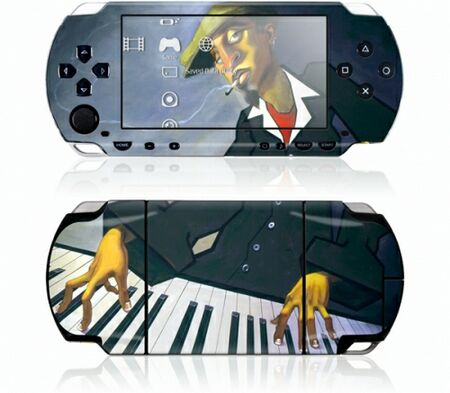 Sony PSP GelaSkin Piano Man II by BUA