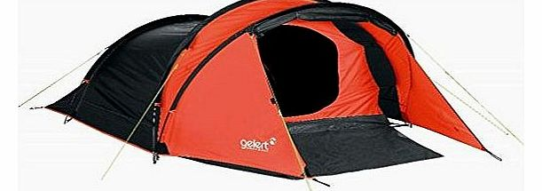 Chinook 2 Tent - Red Orange/ Charcoal