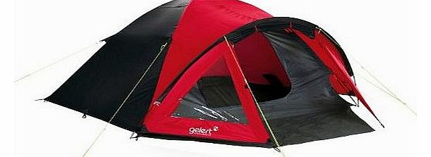 Rocky 4 Tent Festival camping shelter - Mars Red/Charcoal