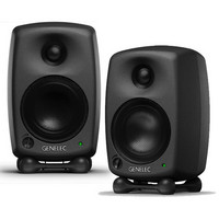 8020B Bi-Amped Studio Monitors Black