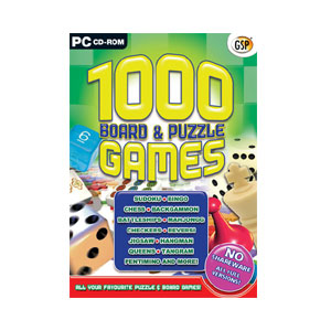 1000 Board & Puzzle Games PC
