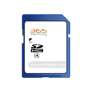 Generic 365 Memory 4GB SD Card (SDHC) - Class 4