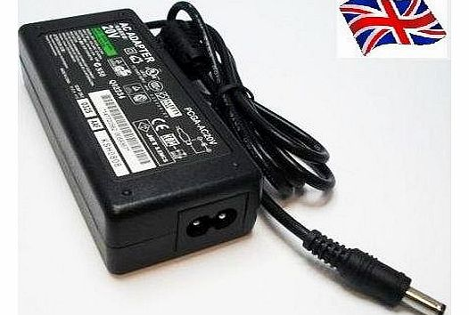 ADVENT 5612 6301 9117 9215 LAPTOP CHARGER AC ADAPTER 20V 3.25A 65W MAINS BATTERY POWER SUPPLY UNIT