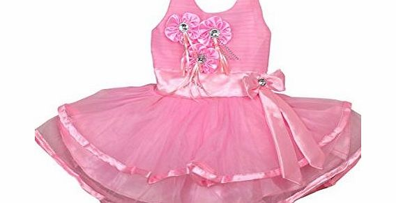 Generic Baby Girls Pink Dress for Party, Wedding, Princess for 3 - 6 months