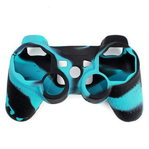 Camouflage Silicone Skin Case Cover For PS3/PS2 Playstation Controller
