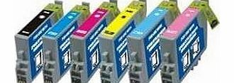 Epson Printer Ink Cartridge Full Set - R200 R300 Rx500 Rx600 Rx620 R1500
