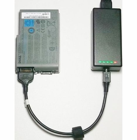 External (Standalone) Laptop Battery Charger for Dell Latitude D505 Series - Charges your battery outside the laptop