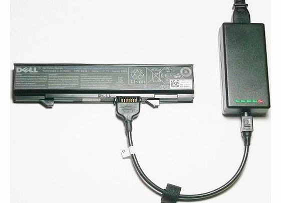 External (Standalone) Laptop Battery Charger for Dell Latitude E5500 Series - Charges your battery outside the laptop