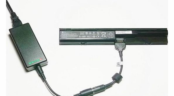 External (Standalone) Laptop Battery Charger for HP ProBook 4530s Series - Charges your battery outside the laptop
