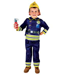 Fireman Dress Up with Accessories