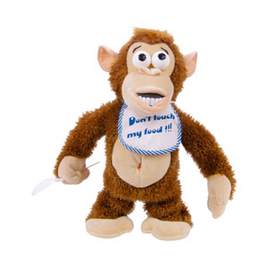 ThumbsUp Crazy Monkey Soft Toy