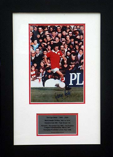 Best and#8211; Signed Manchester United presentation