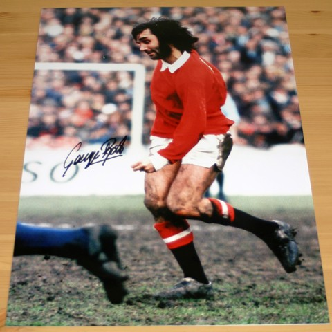 BEST SIGNED 18 x 12 INCH COLOUR PHOTOGRAPH