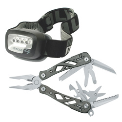 SUSPENSION with FREE SILVA HEADTORCH