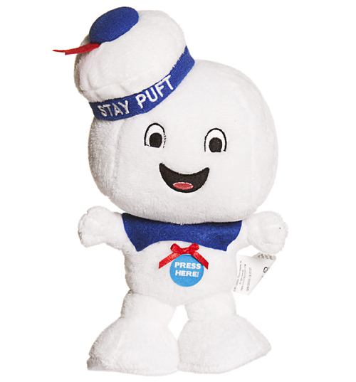 Stay Puft 9 Inch Talking Plush Toy