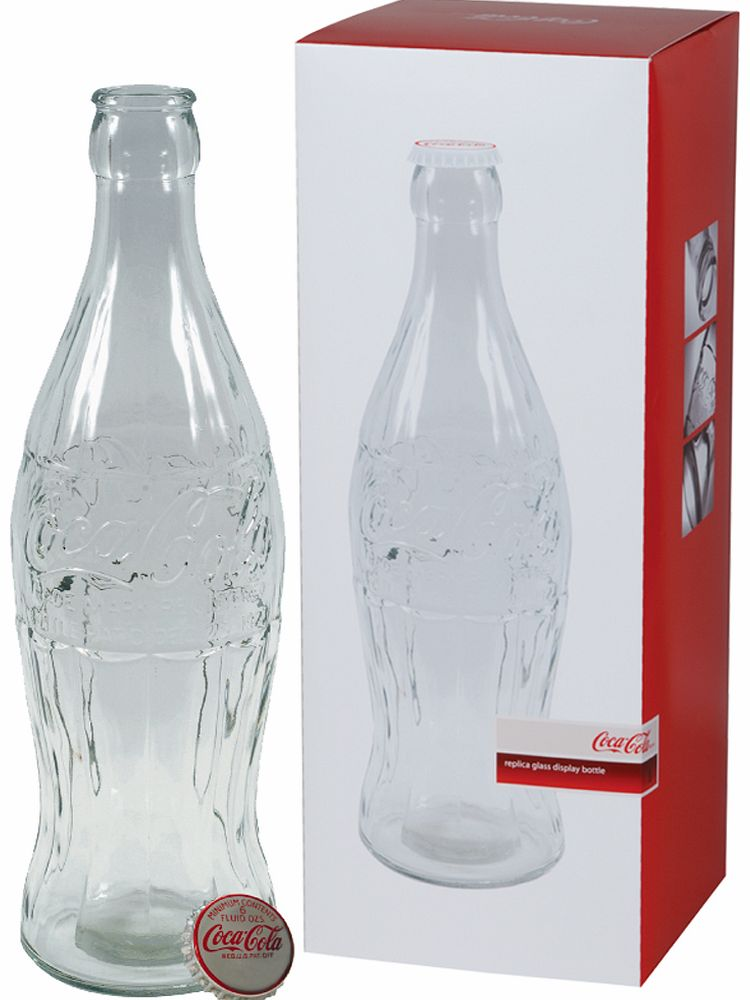 20`` Glass Coca-Cola Bottle Money Bank