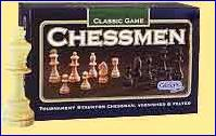 Gibson s Varnished Baized Chessmen 3 1 2 Inch King