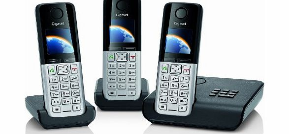 C300A Trio DECT Cordless Phone Set with Answer Machine