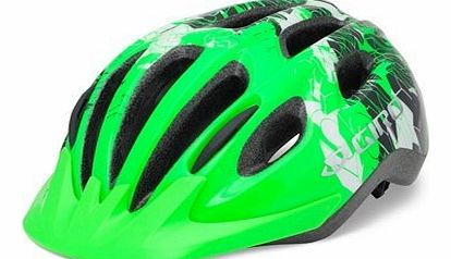 Flurry II Cycling Helmet in Bright Green UNISIZE 50-57CM, BRIGHT GREEN