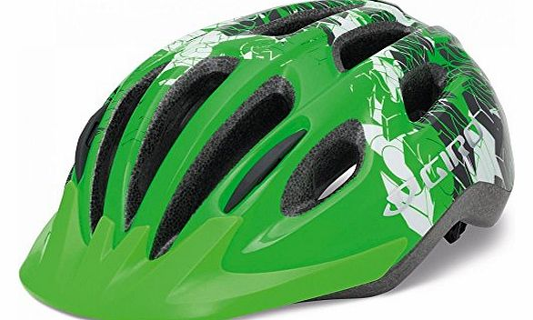 Flurry II Lid Kids - Bright Green