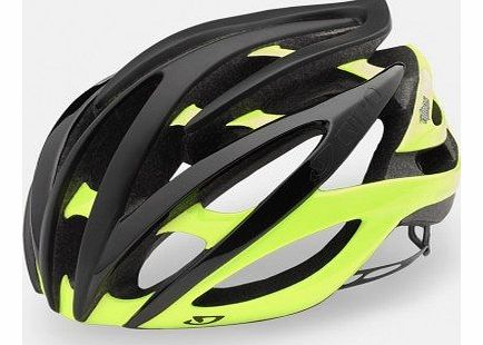 Atmos II Cycle Helmet, Black/Yellow, M
