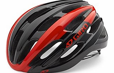 Foray Cycle Helmet, Red/Black, L