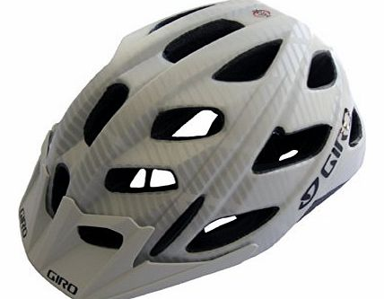 Hex Helmet - Matt White Lines, Medium