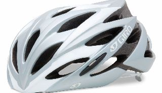 Savant Helmet Silver and White