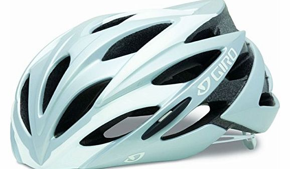 Savant Road Helmet - Silver/White, Medium