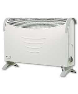 glen Convector Heater with Thermostat 2kW