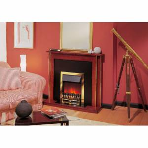 Glen Dimplex Wynford Brass Effect Optiflame(R)