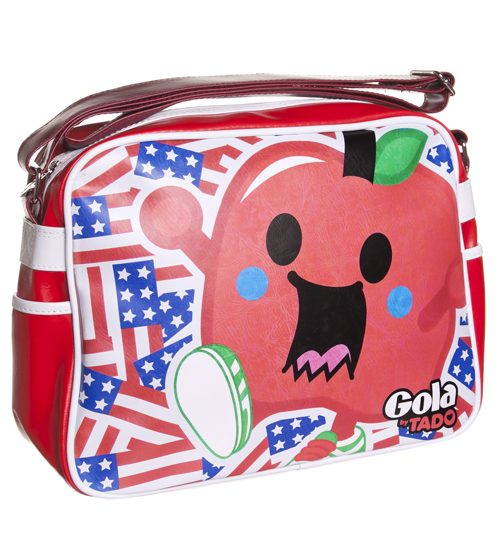 Retro Tado Big Apple Redford Messenger Bag from