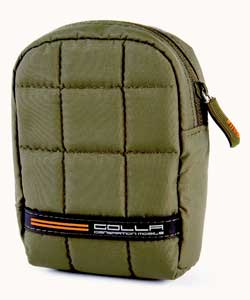 Golla Cube Army Green Padded Camera Case