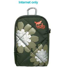 golla Glow Camera Case - Army Green
