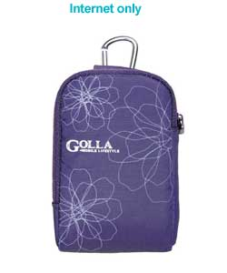 golla Lucy Camera Case - Purple