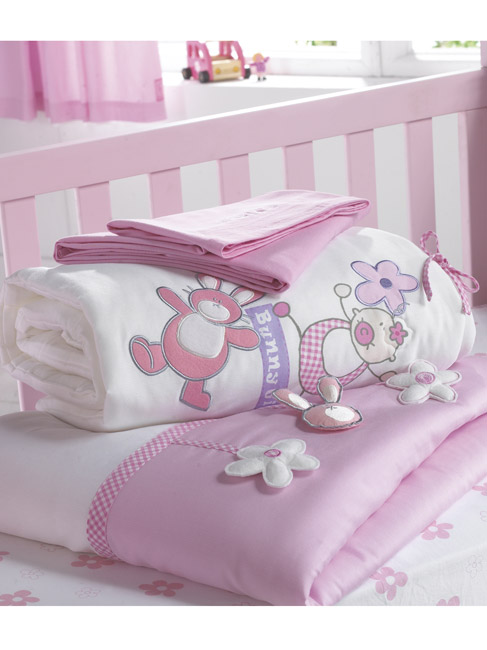 Bunny Girl Cot and Cot Bed Nursery Bedding Bale