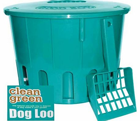 Clean Green Dog Loo and Scoop