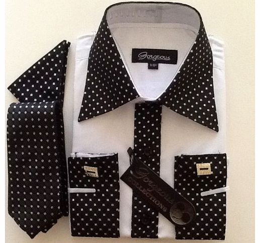 Gorgeous Boys Formal Wedding/Special Occassion Dress Shirt With Tie