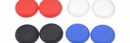 8 x TPU Analog Controller Thumb Stick Grips Cap Cover For Sony Play Station 4 PS4 Game Accessories Replacement Parts