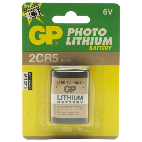 Lithium Camera Battery 6v 2cr5 2CR5