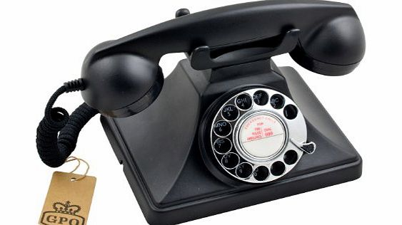 200 Classic Rotary Dial Corded Telephone -