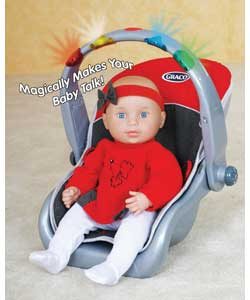Electronic Doll Travel Seat with Baby Doll