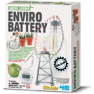 Great Gizmos 4M Kidz Labs Green Science Enviro Battery