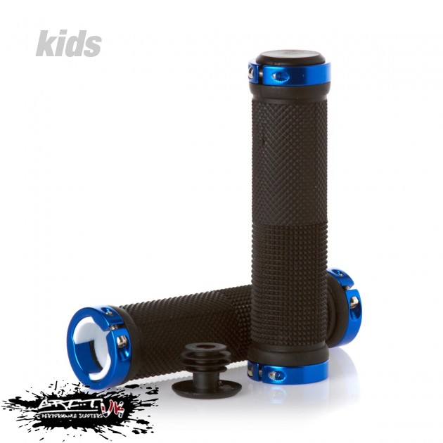 Lock On Scooter Grips - Black