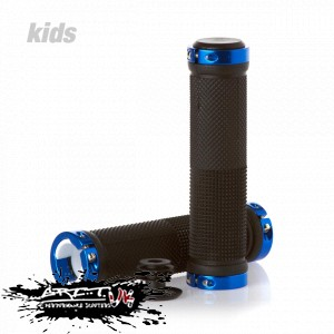Scooters - Grit Lock On Scooter Grips - Black
