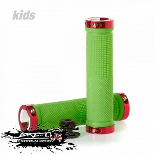Scooters - Grit Lock On Scooter Grips - Green