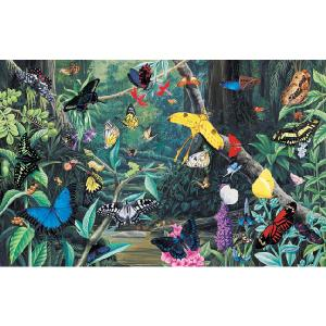 Grovely Jigsaws James Hamilton Grovely Puzzles Butterfly Kaleidoscope 1000 Piece Jigsaw Puzzle